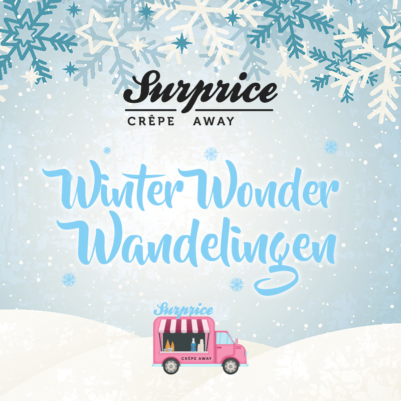 Surprice Winter Wonder wandelingen