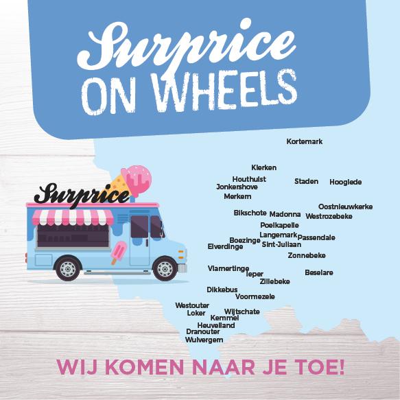 Surprice on Wheels