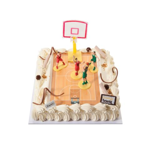 Themataart met decoratiekit Basketbal
