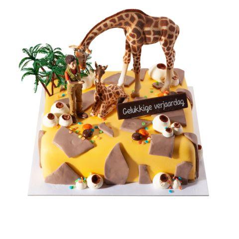 Themataart met suikerpasta Safari