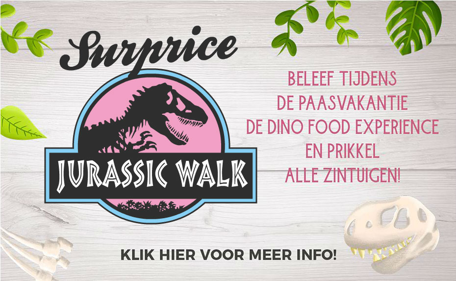 Surprice Jurassic Walk