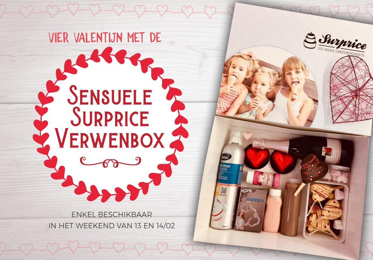 surprice valentijnsactie sensuele verwenbox
